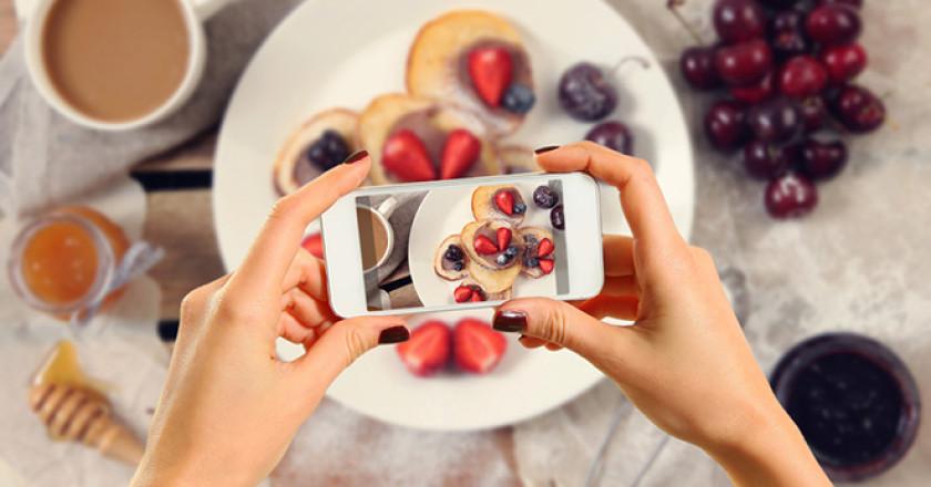 Yemek Fotoğrafı Çekme Sanatı