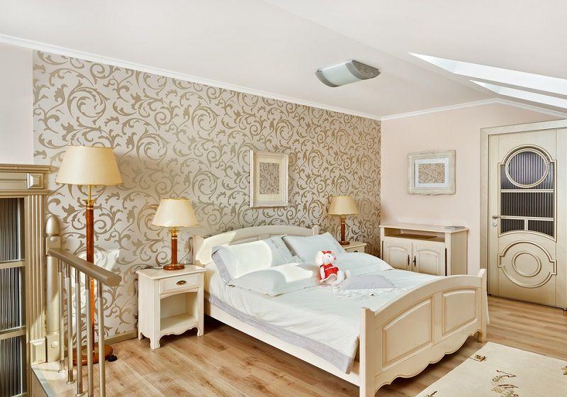 Boş Duvar Dekorasyonu Yatak Odası