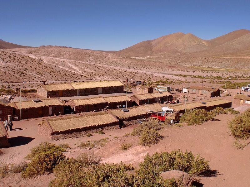 Atacama Çölü And Köyü