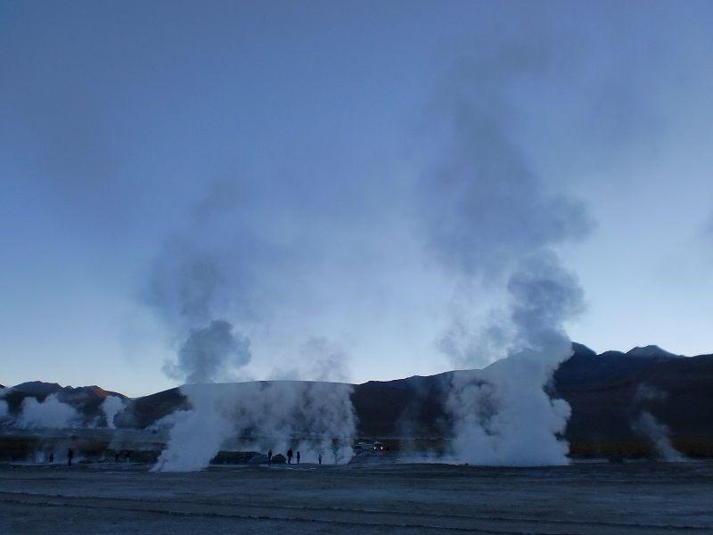 Atacama Çölü Gayzer
