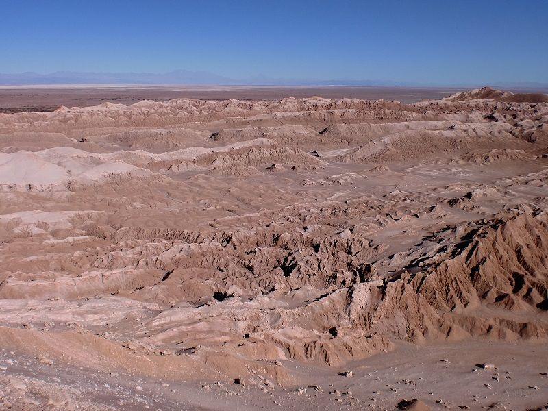 Atacama Çölü Ölüm Vadisi