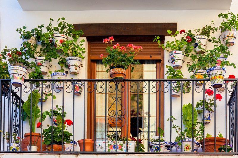 Balkon Aksesuarları Çiçeklik