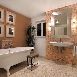 Banyo Dekorasyonu Lüks Banyo