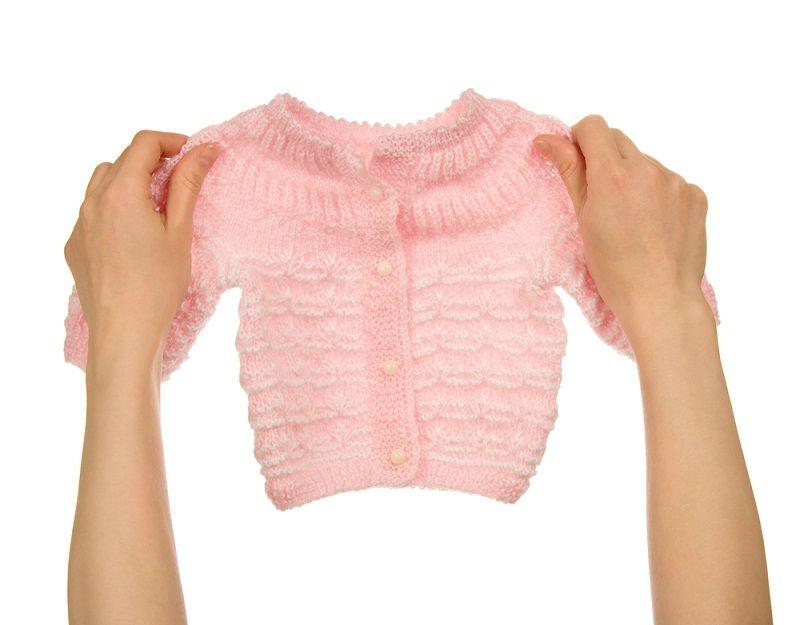 Bebek Örgü Modelleri Hırka