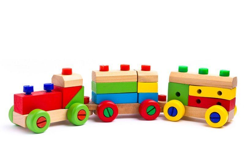 Bebek Oyuncağı Ahşap Tren