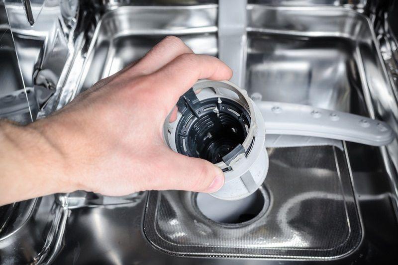 Bulaşık Makinesi Temizliği Filtre Temizliği