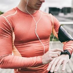 Egzersiz Kıyafetleri Sporcu Saatleri