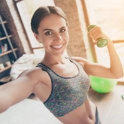 Egzersiz Kıyafetleri Sporcu Sütyeni