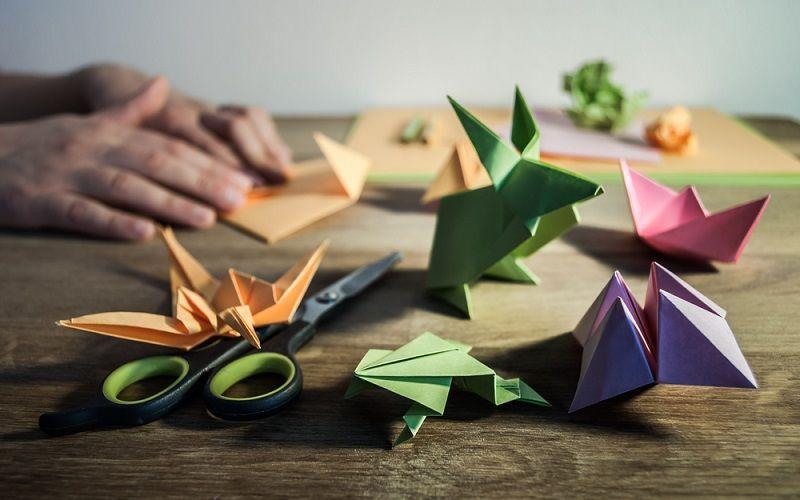 Evde Yapılabilecek Hobiler Origami