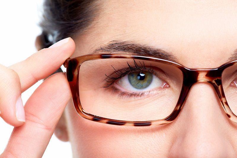 Gözlük Kullanmak Gözlük Çerçevesi