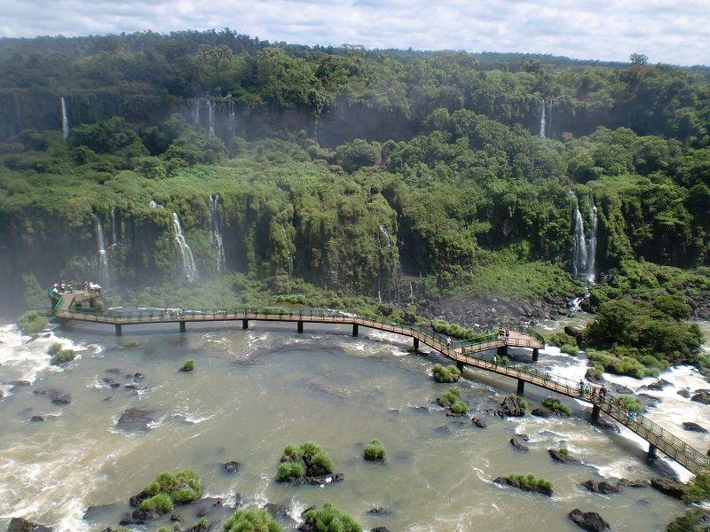 İguazu Şelaleleri Brezilya