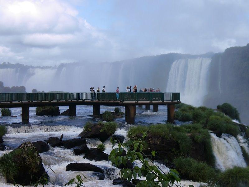 İguazu Şelaleleri Brezilya Seyir Terası