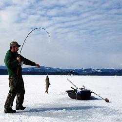 Kış Sporları Balık Tutma