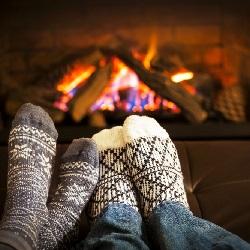 Kışın Yapılacak Aktiviteler Şömine
