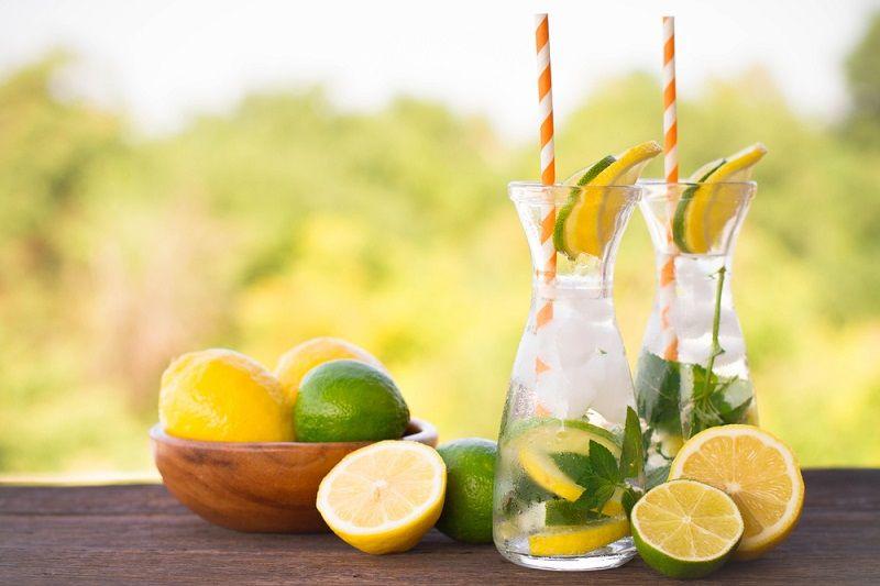 Limonata Yapımı Naneli