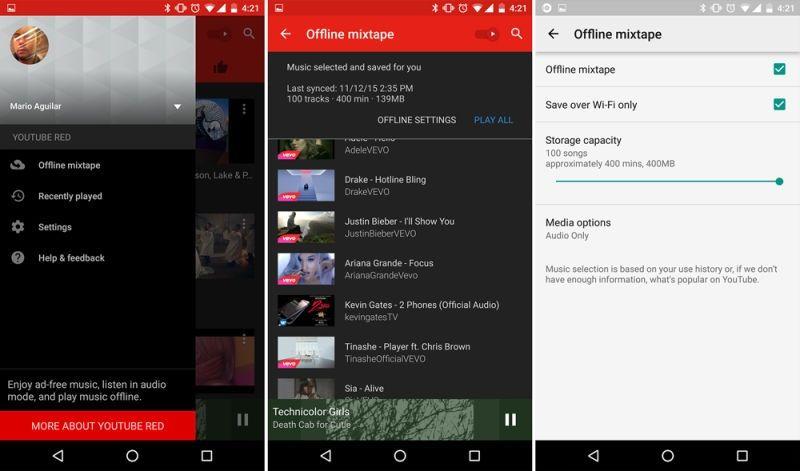 Müzik Uygulamaları Youtube Music