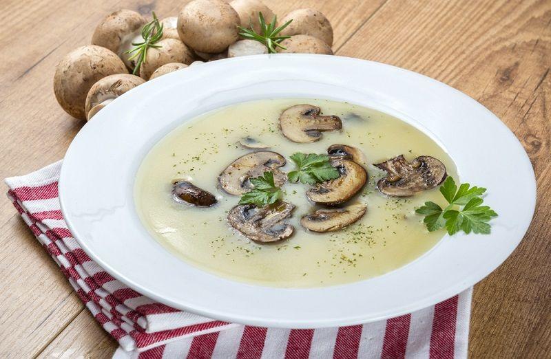 Mantar Çorbası Tarifi Malzemeler