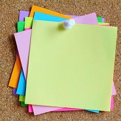 Okul Alışverişi Not Kağıdı