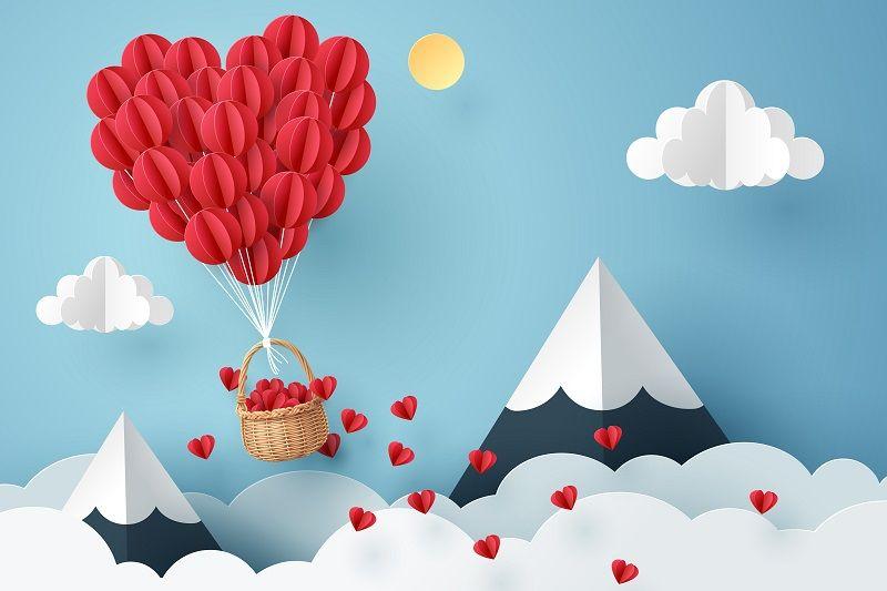Origami Yapımı Kalp