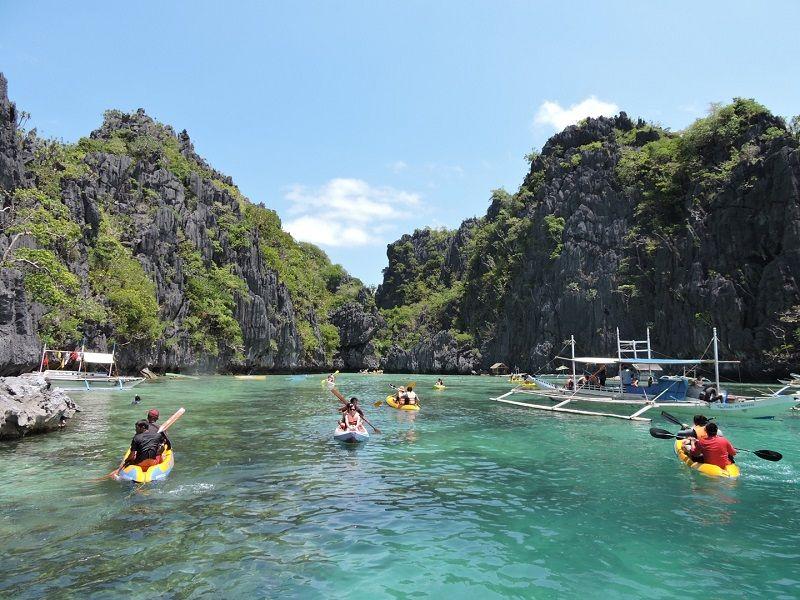 Palawan Adası Tekne Turu