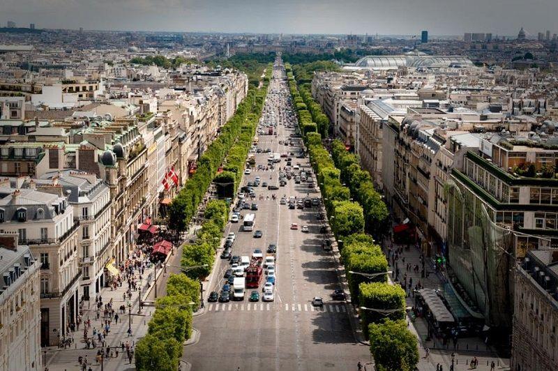 Paris Gezilecek Yerler Caddeler