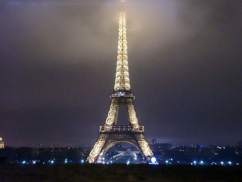 Paris Gezilecek Yerler Eyfel Kulesi