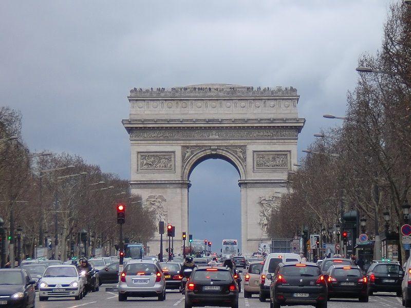 Paris Gezilecek Yerler Harita