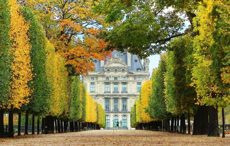 Paris Gezilecek Yerler Tuileries