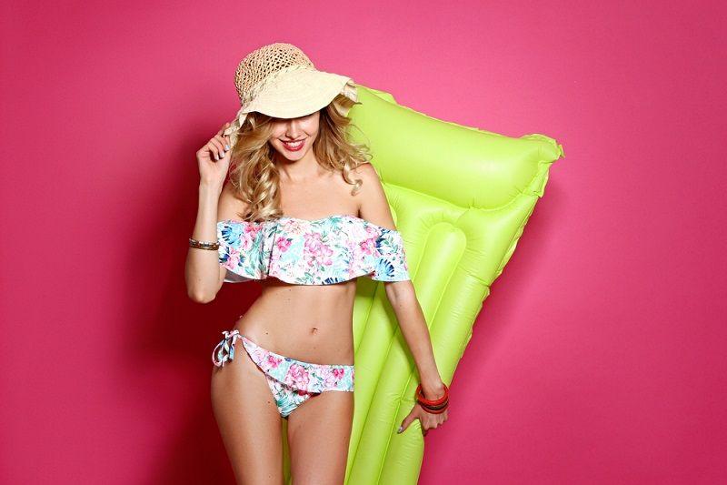 Plaj Fırfırılı Bikini