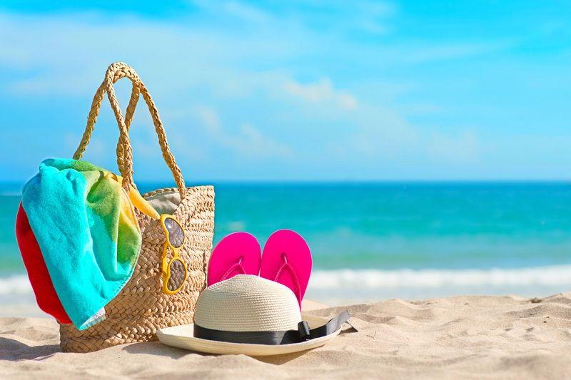 Plaj Hasır Çanta