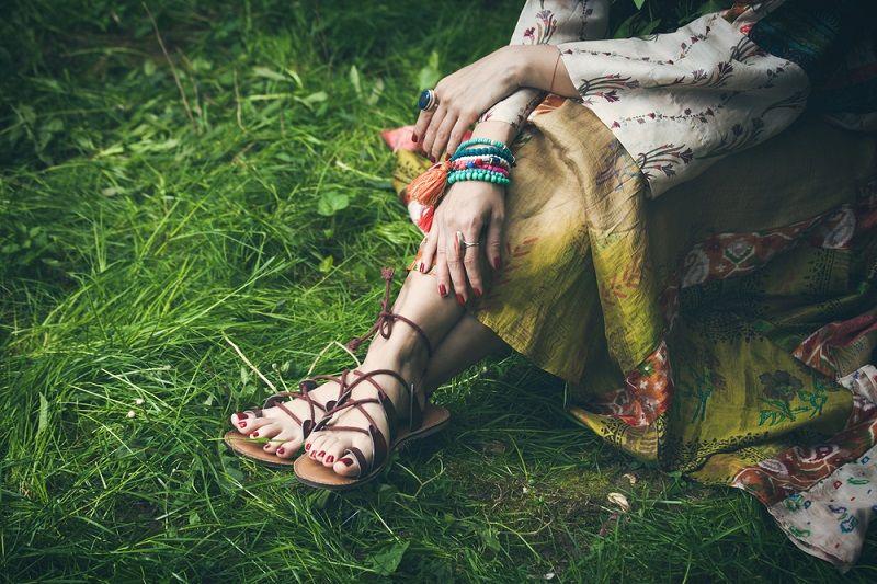 Sandalet Modelleri Gladyatör