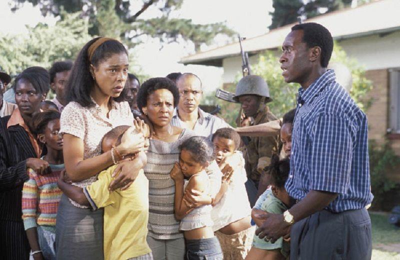 Savaş Filmleri Ruanda Oteli
