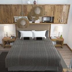 Yatak Odası Dekorasyonu Ahşap