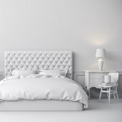 Yatak Odası Dekorasyonu Beyaz
