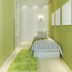 Yatak Odası Dekorasyonu Dar