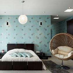 Yatak Odası Dekorasyonu Duvar Kağıdı