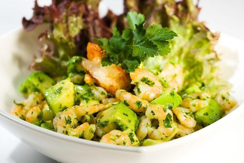 Yaz Yemekleri Karides Salatası