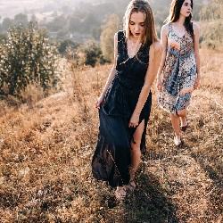 yYazlık Elbise Modelleri Bohem Elbise