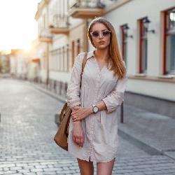Yazlık Elbise Modelleri Gömlek Elbise