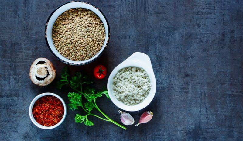 Yeşil Mercimek Yemeği Malzemeler