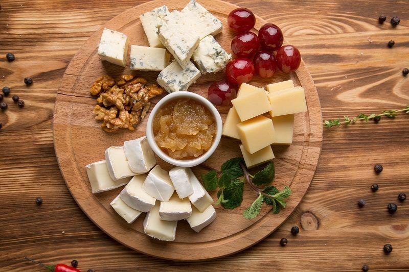 Yılbaşı Menüsü Peynir Tabağı