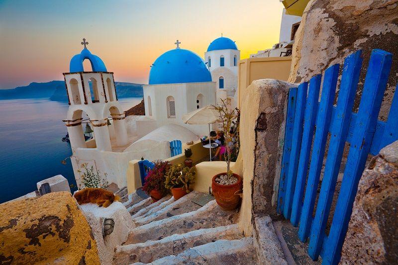 Yunan Adaları Santorini