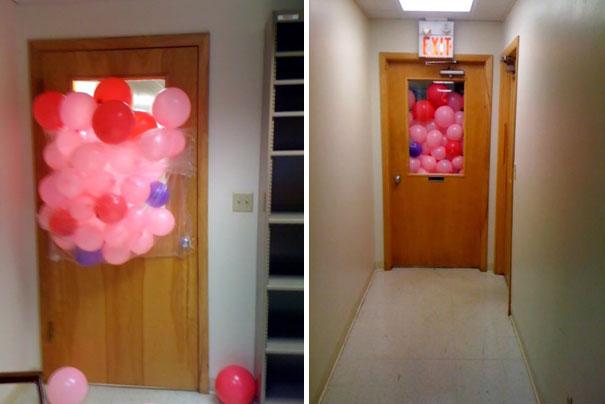 1 Nisan Şakası Balonlar