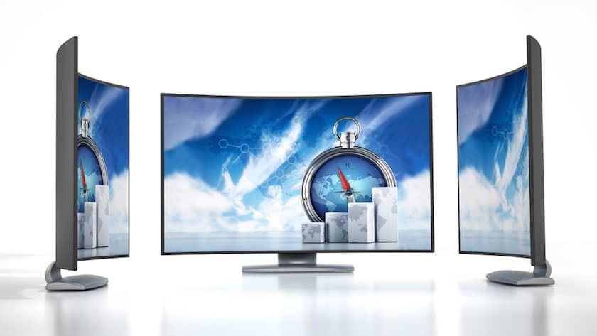 Kavisli TV