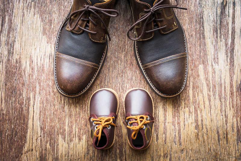 Deri Bebek Ayakkabıları