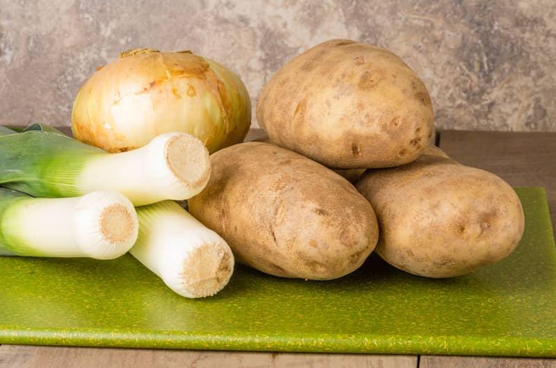 Pırasa ve Patates Püresi