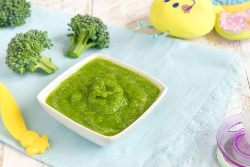 Brokoli ve Karnabahar Püresi