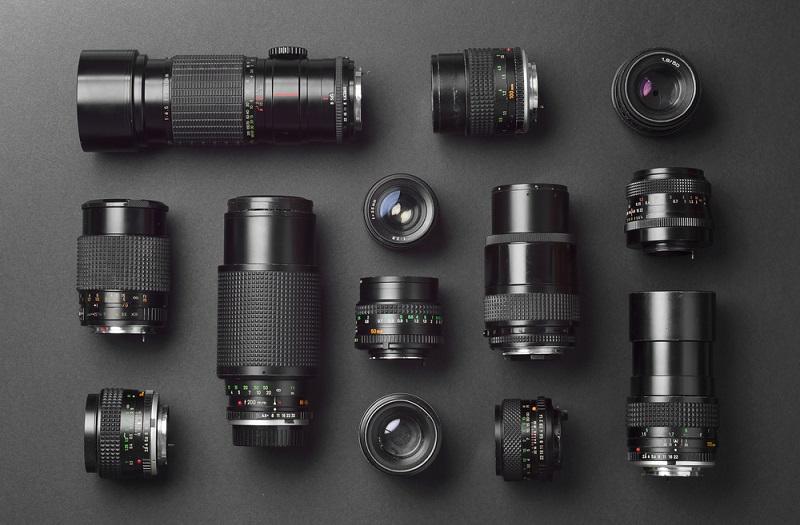 Fotoğraf Makinesi Lensleri