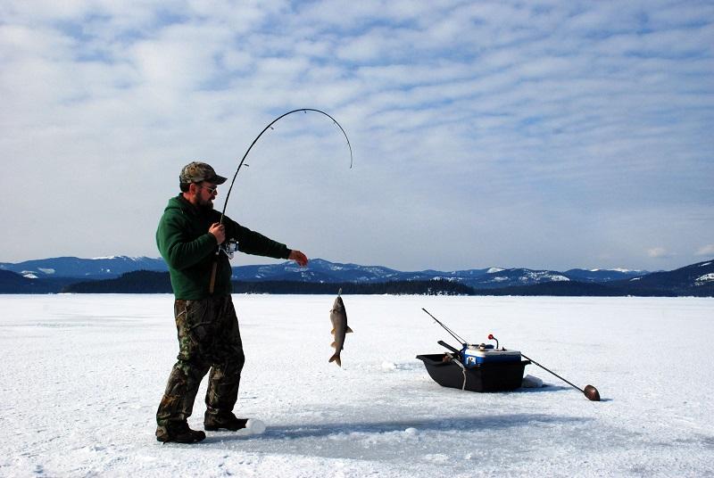 Kış Sporları Balik Tutma