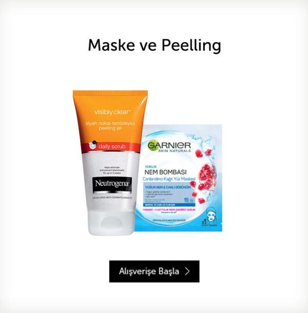 Maske ve Peeling